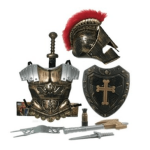Knights & Gladiators dress up showbag
