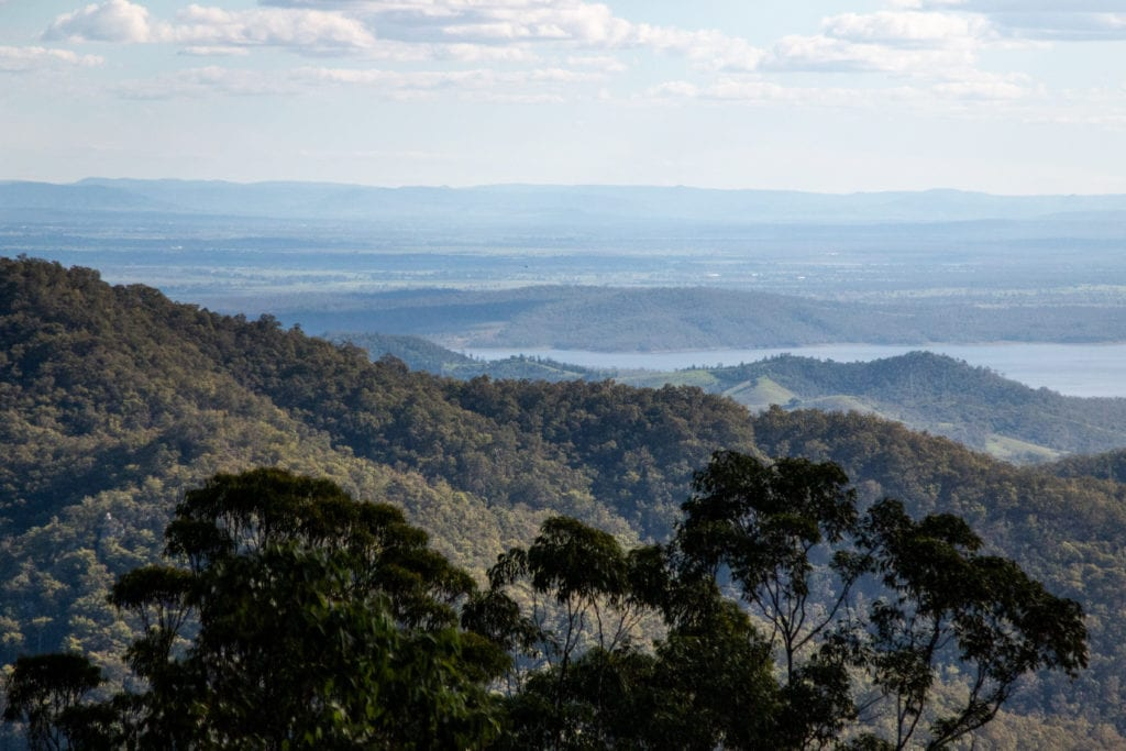 Hiking Mt Glorious with kids