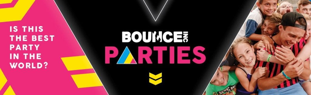 Bounce Parties Banner