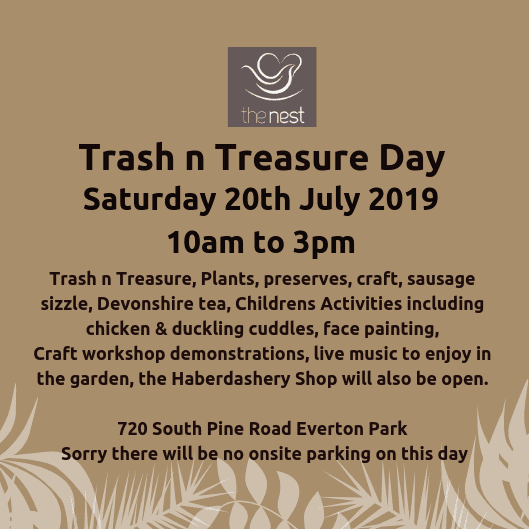 The Nest Trash and Treasure Day