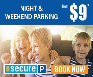 Secure Parking $9 advert
