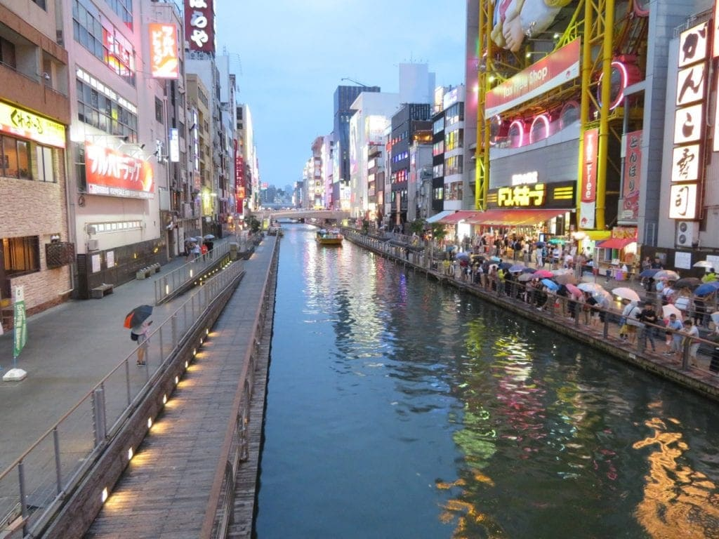 osaka with kids dontonbori