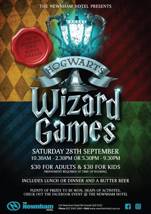 Hogwarts Wizard Games