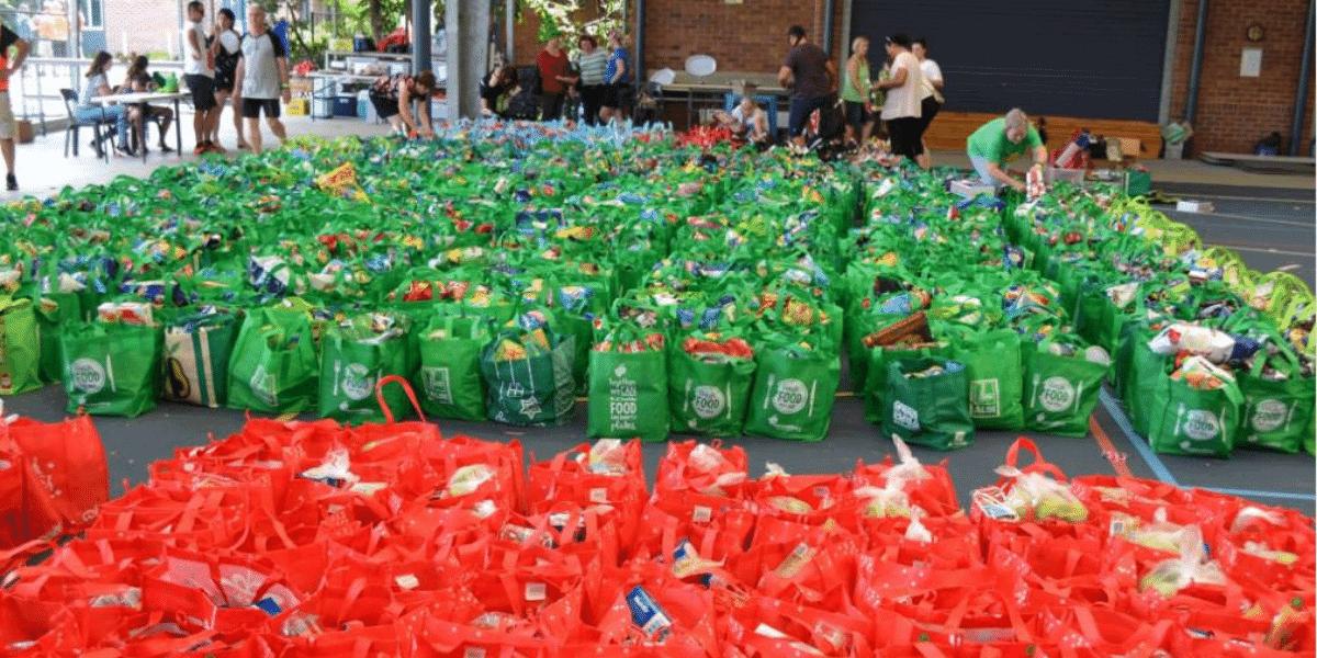 Brisbane Basket Brigade bags