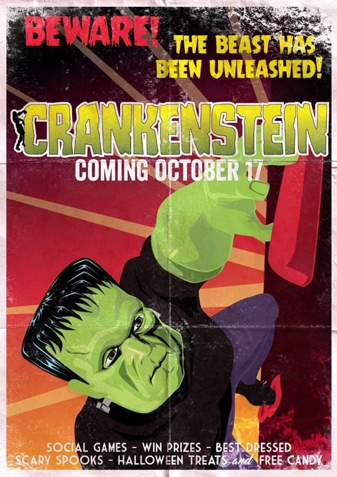 CRANK'Enstein Halloween Party