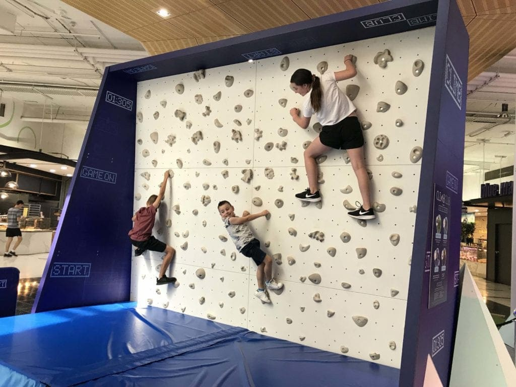Climb Time at Hyperdome