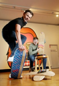 Design your own skateboard deck