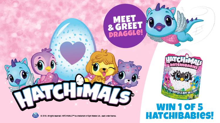 Hatchimals Craft Village!