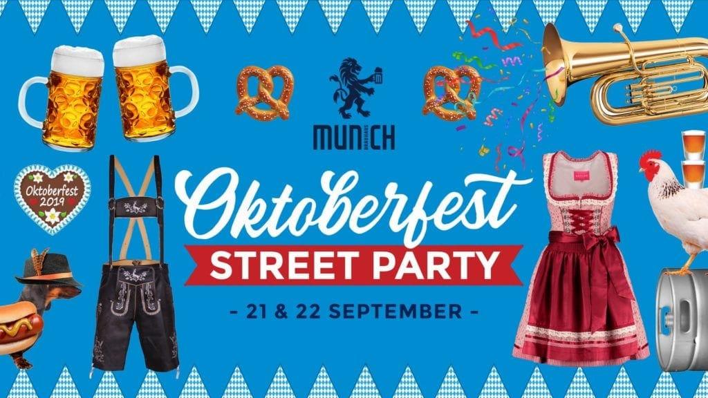 Oktoberfest Street Party