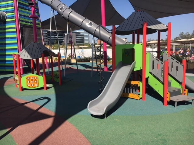 orion mega adventure playground slide