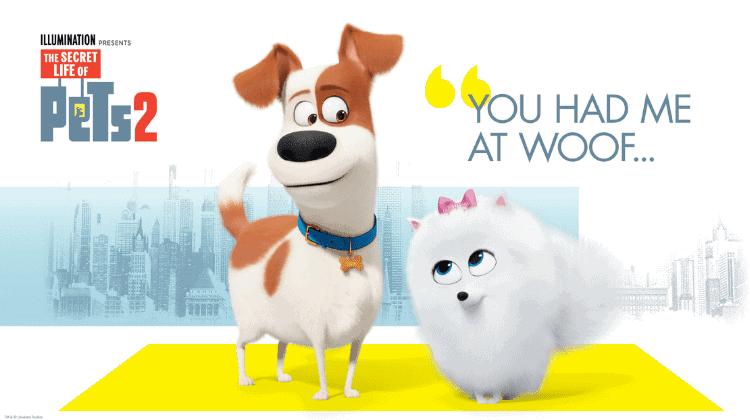Secret Life of Pets 2 Dog Bark Activity Centre!