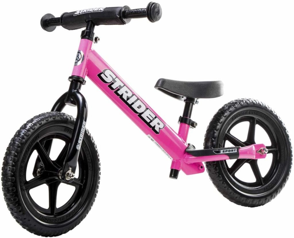 best toddler bikes - Strider balance bike