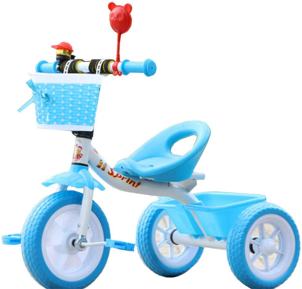 best toddler bikes - LovemyhomeDD Steel Children's Tricycle 1-3 Year Old Baby Toddler Toy