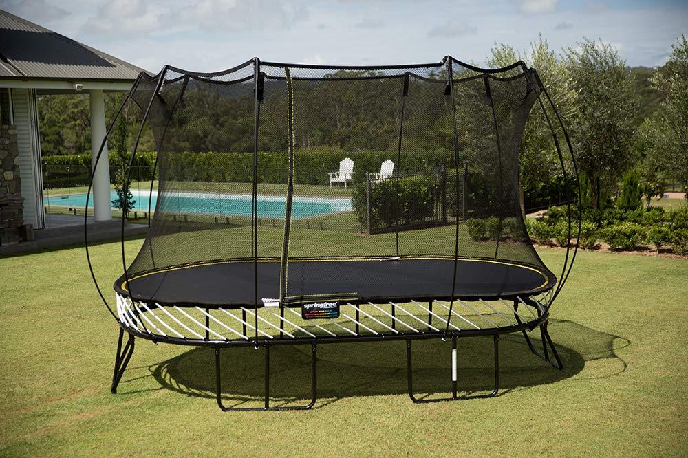 best trampolines for kids - Springfree Oval Trampoline