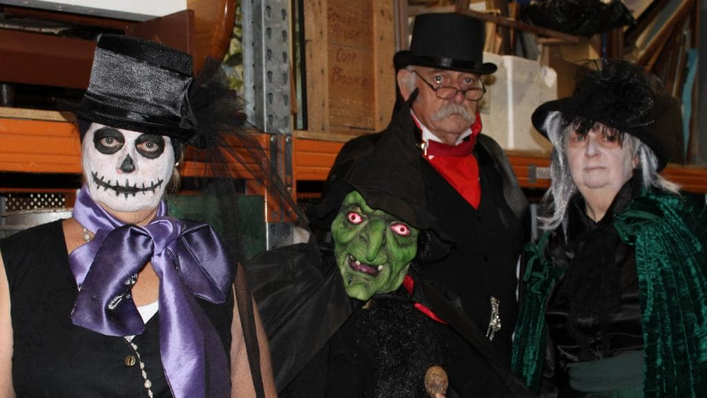 Ghoulies and Ghosties   The Village Halloween Party