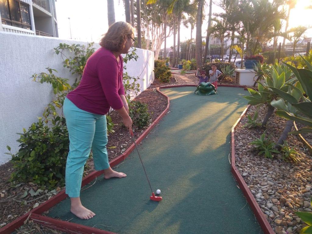 Mini golf at The Royal Palm Resort