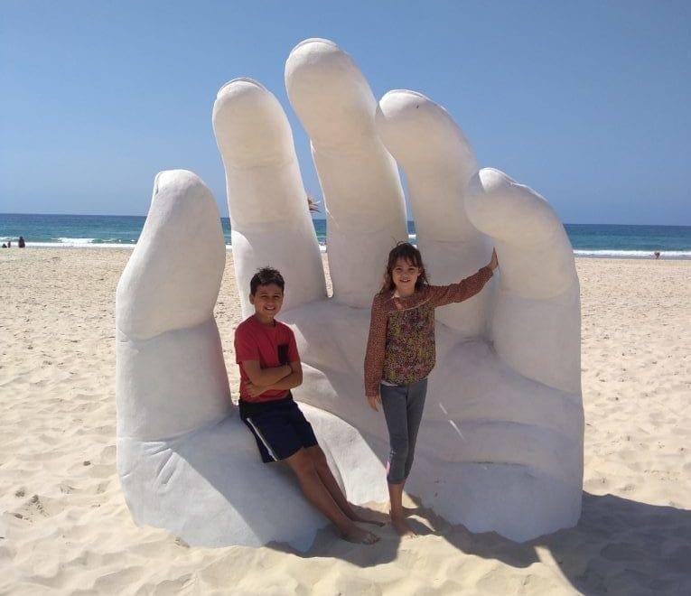 Swell Sculpture Hand