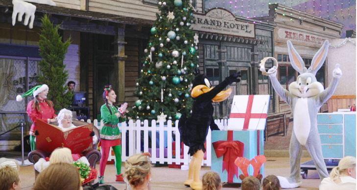 Movie World White Christmas Santa's Village
