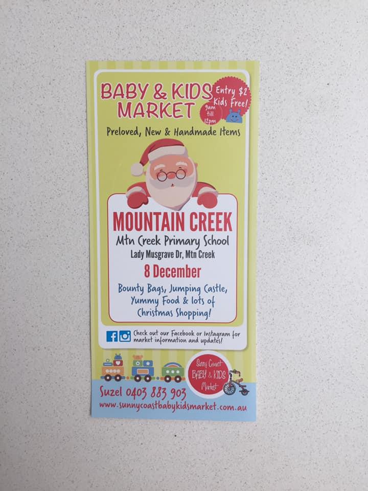 Sunny Coast Baby & Kids CHRISTMAS market