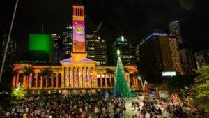 City Hall Lights