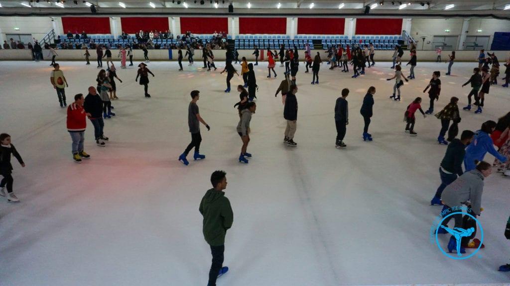 Ice skating at Boondall Ice World