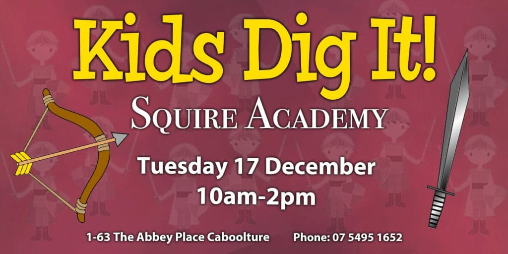 Kids Dig It – Squire Academy