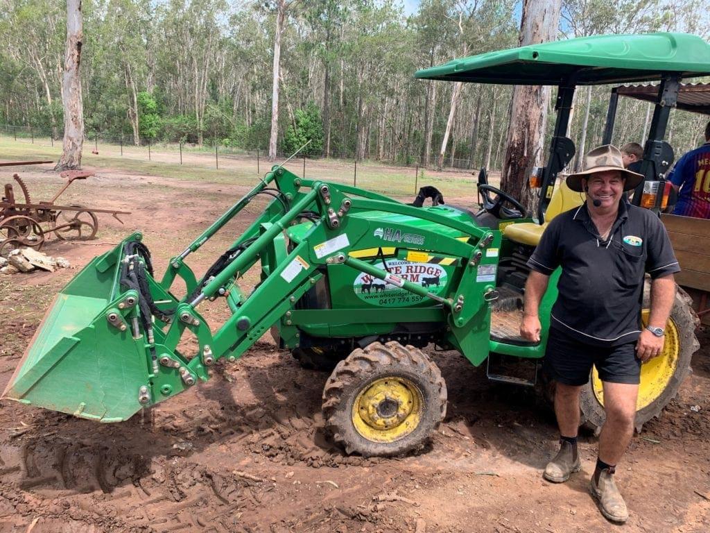 Tractor Tour at White Ridge Farm