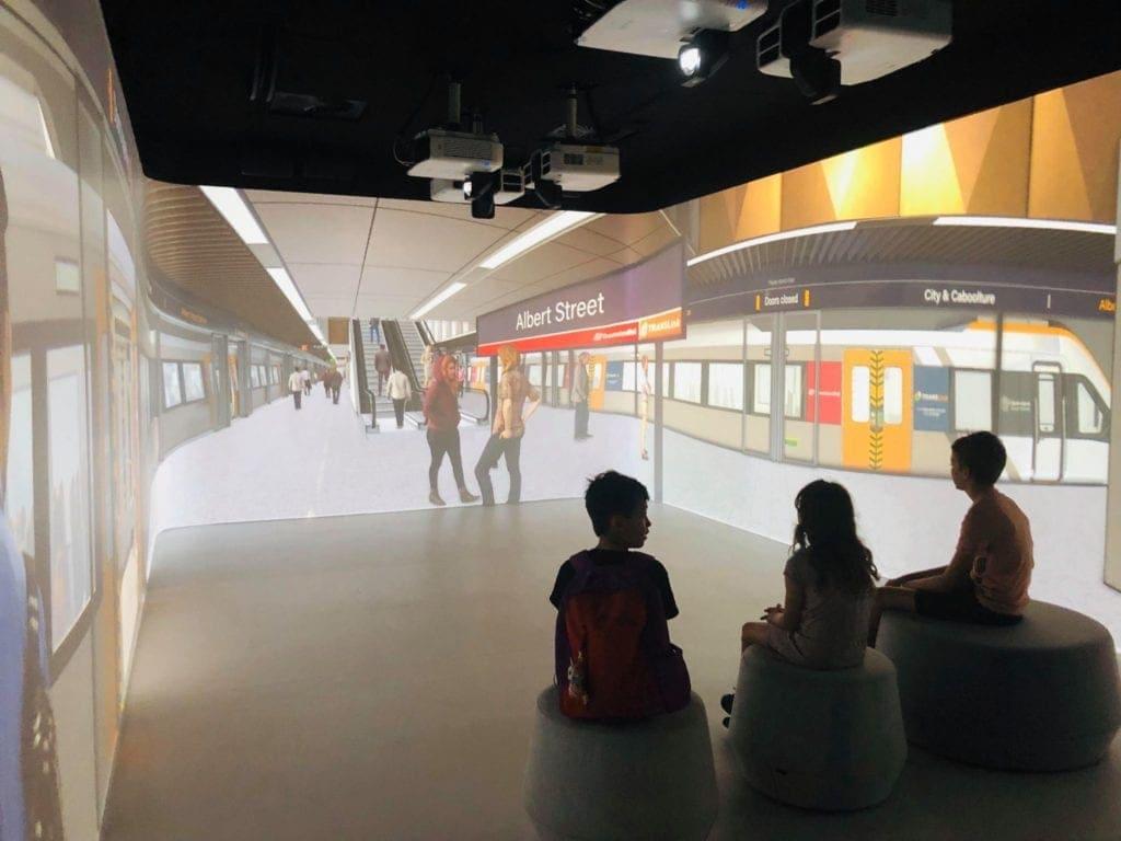 Cross River Rail Reality Theatre 2