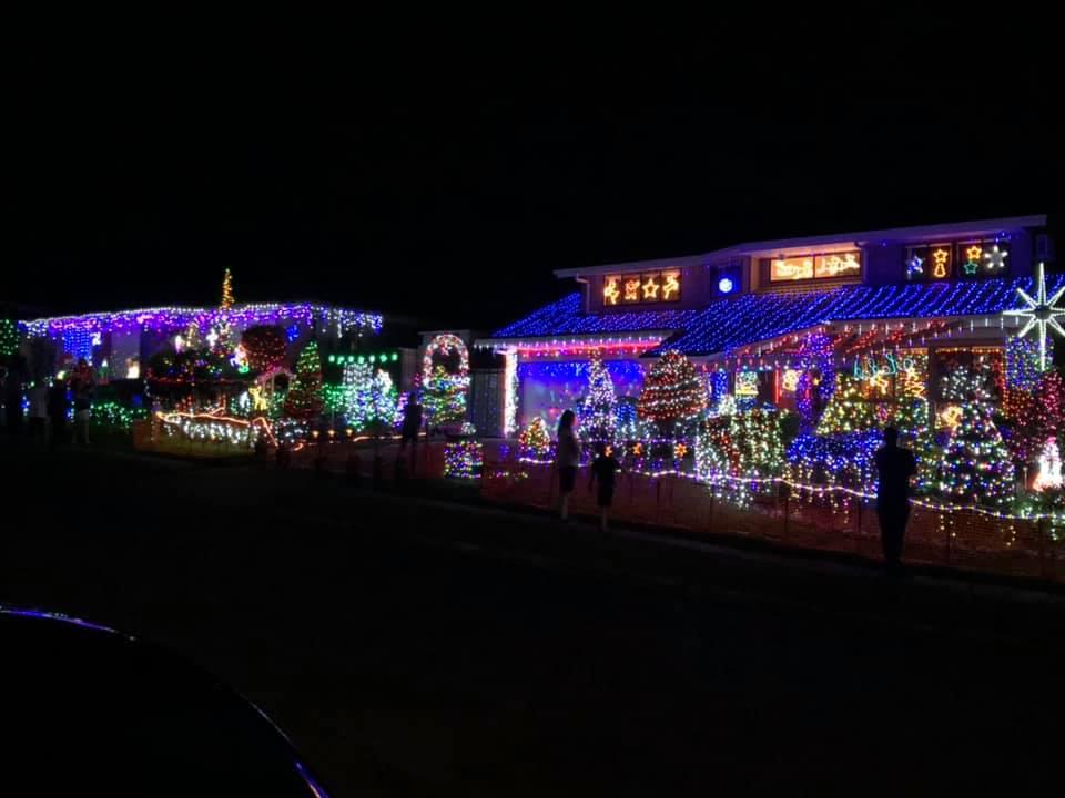 Cobalt Street Keperra Christmas lights