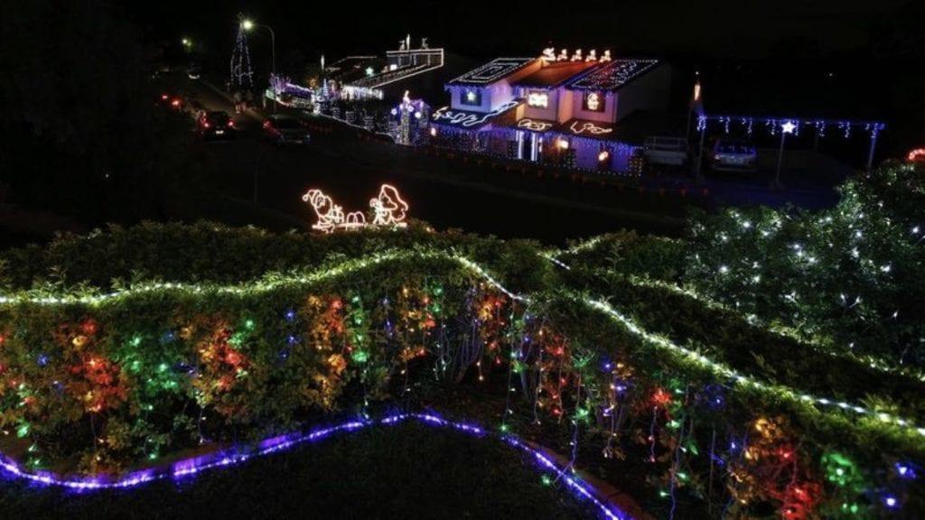 Best Neighbourhoods for Christmas lights in Brisbane