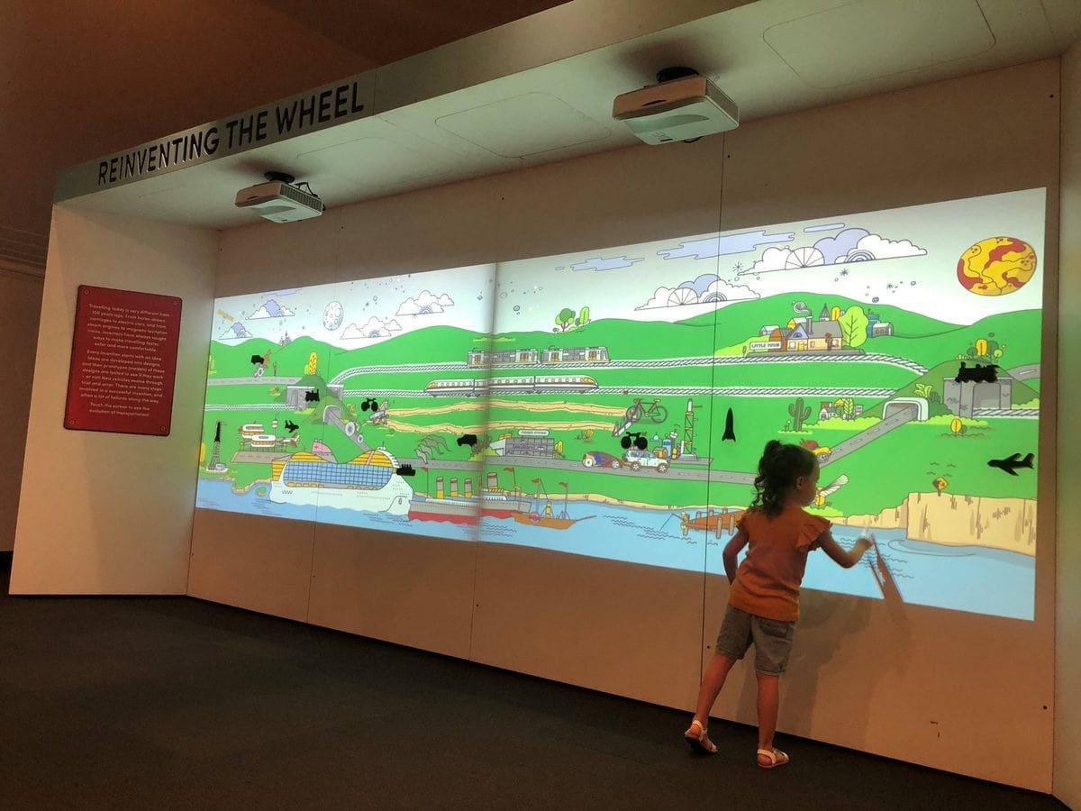 Ipswich Art Gallery Interactive Screen