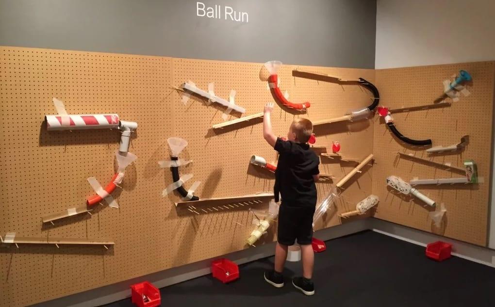 Ipswich Art Gallery ball run