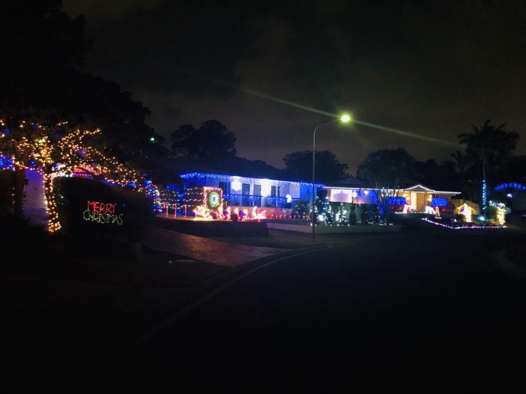 Mayall Place Bridgeman Downs Christmas lights 2019