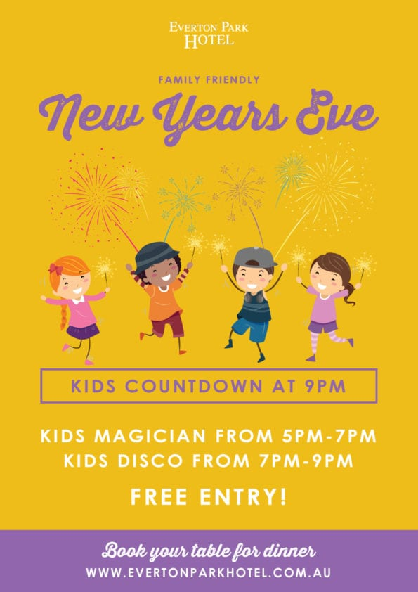 New Year's Eve at Everton Park Hotel