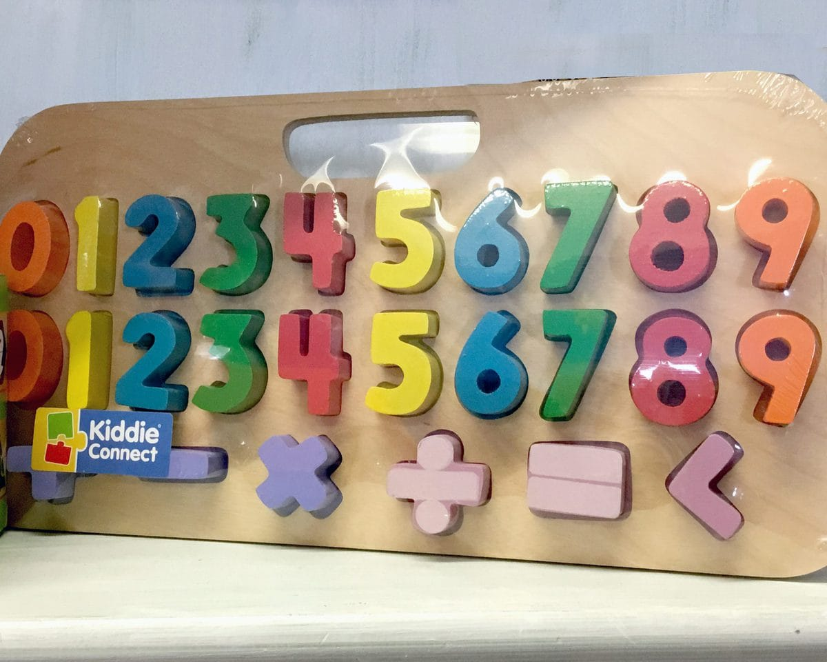 Puzzle Magnetic numbers