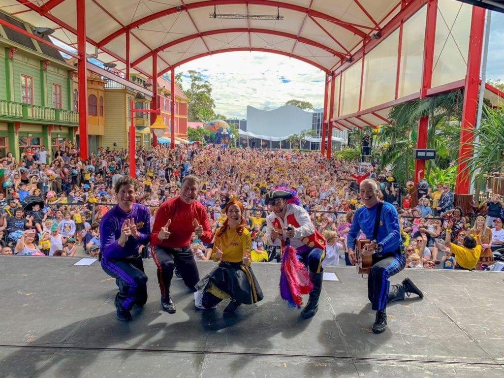 The Wiggles at Dreamworld