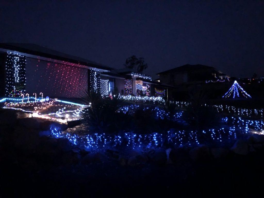 Dwyer Place Jimboomba Christmas lights