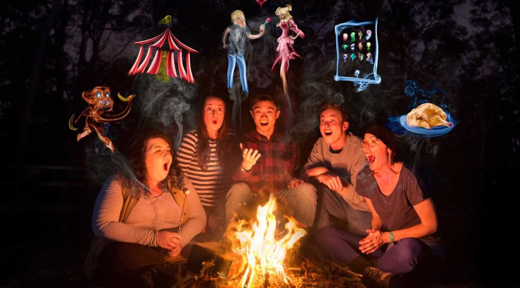 Around the Campfire | New Farm