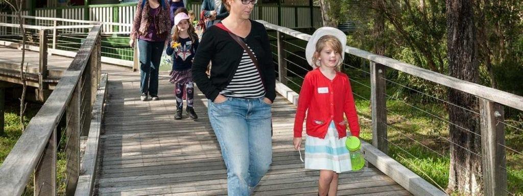 Guided walk at Boondall Wetlands