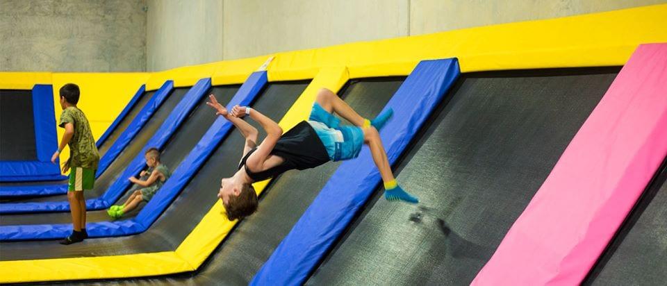 trampoline parks brisbane