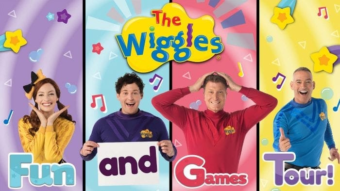 THE WIGGLES – FUN AND GAMES TOUR!