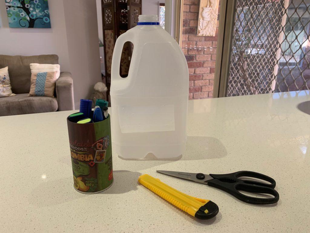 ANZAC Day lantern step 2