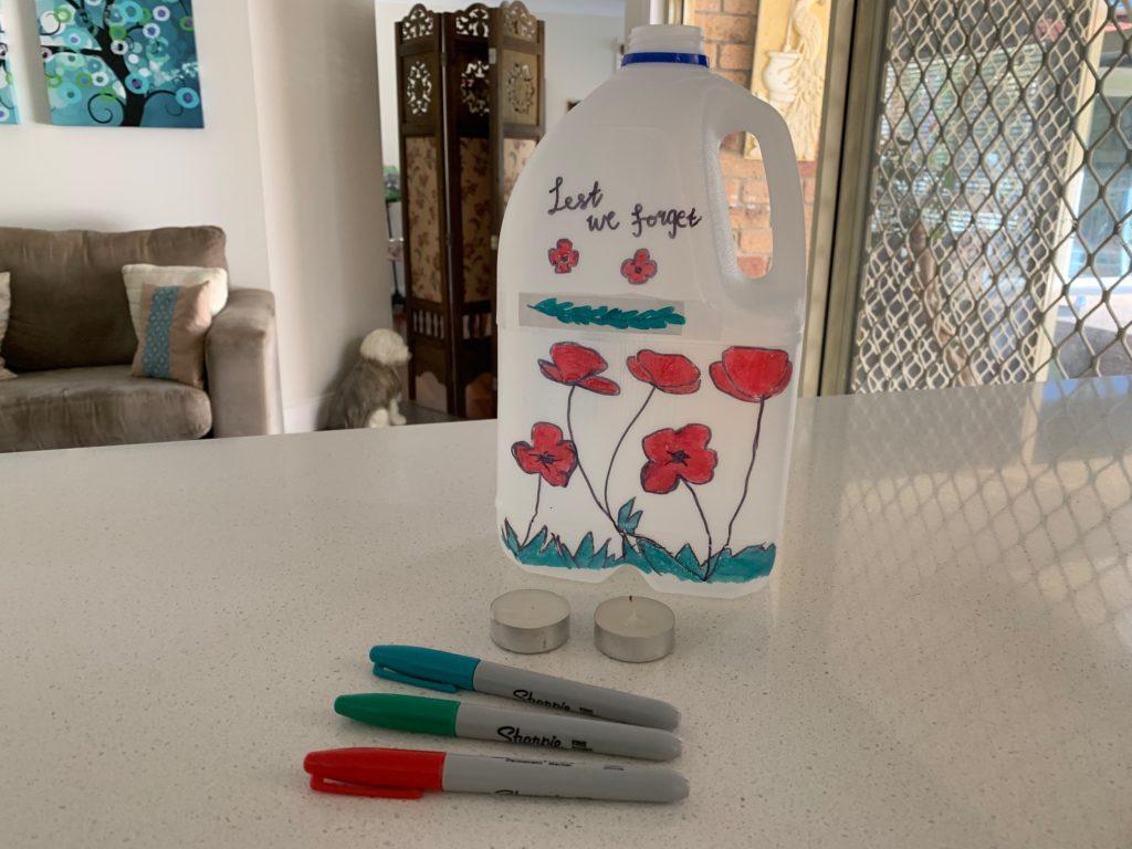 Decorating your lantern