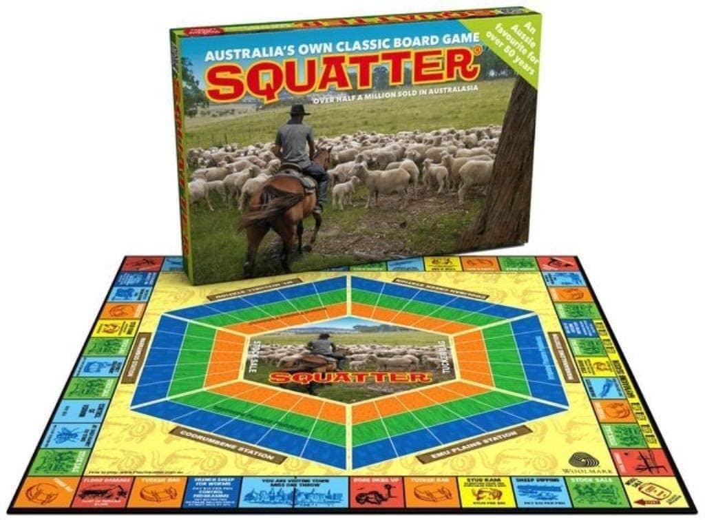 Aussie Farming Game, Squatter