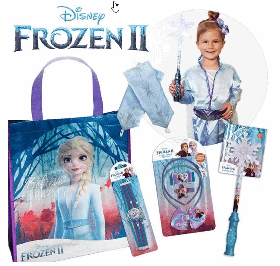 Disney Frozen II Showbag Warehouse