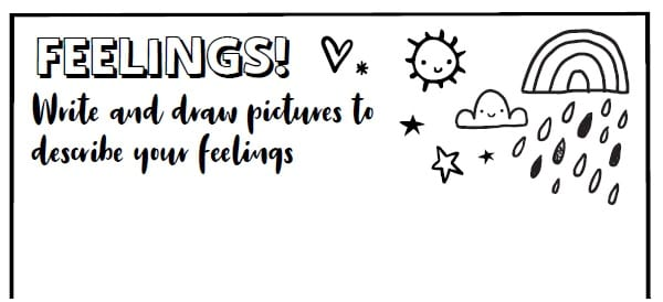 Feelings - stay at home diary