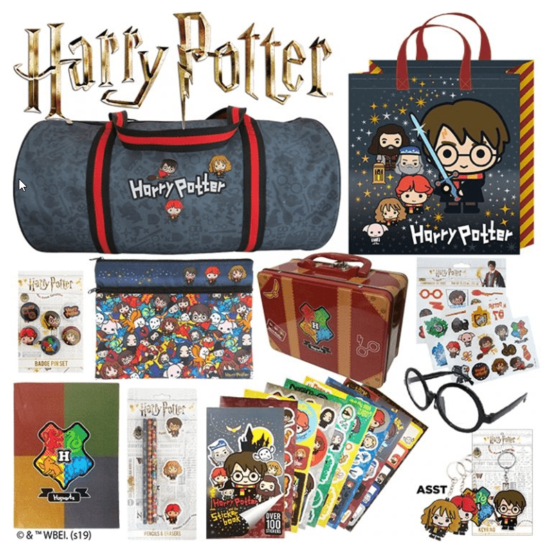 Harry Potter Showbags at Sanity