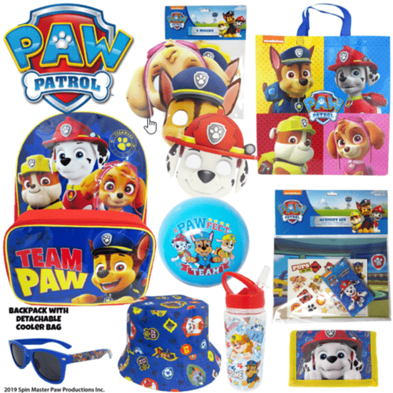 Paw Patrol Showbag Alley