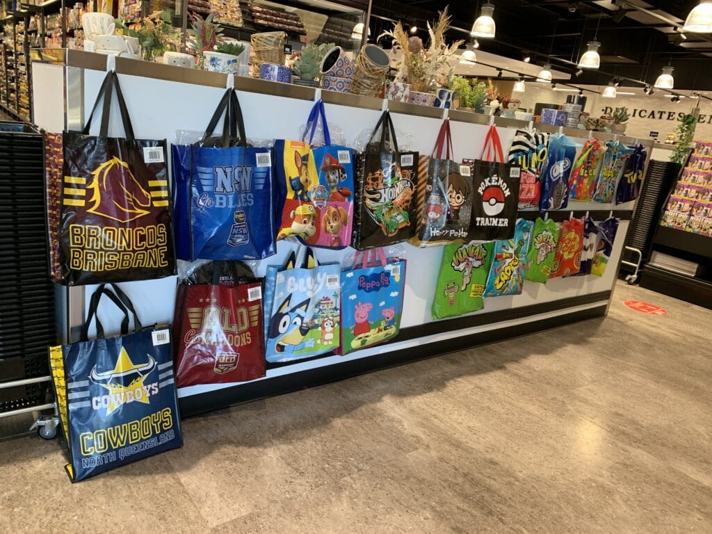 Showbags at IGA on bloomfield, Cleveland