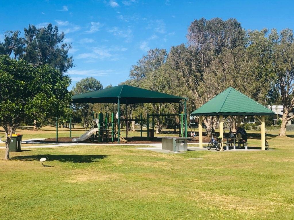 Nudgee Beach playground